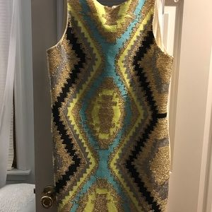 Francesca's Collections Dresses - Francesca's Colorful tribal spring/summer dress